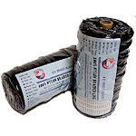 Lee Fisher Size 24 1 lb Braided Twine Black 700 Ft 150 Test