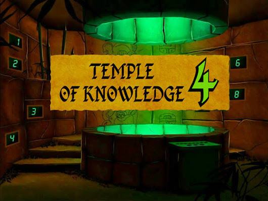 Temple of Knowledge 4 - Play Brain Teasers Online
