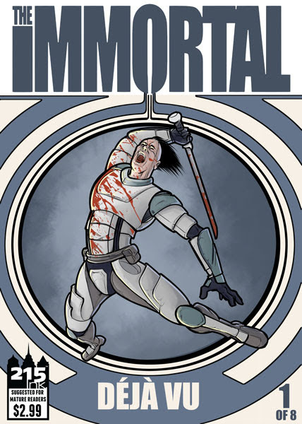 215 Ink Announces Darryl Knickrehm's The Immortal