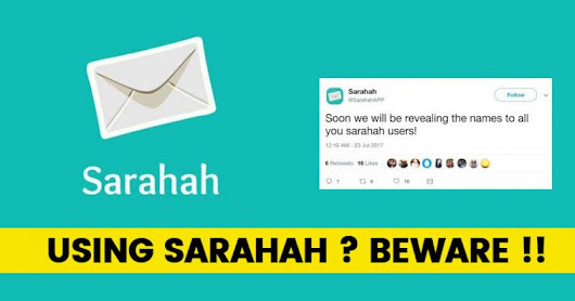 Sarahah Obtains Your Email And Contacts List For No Reason