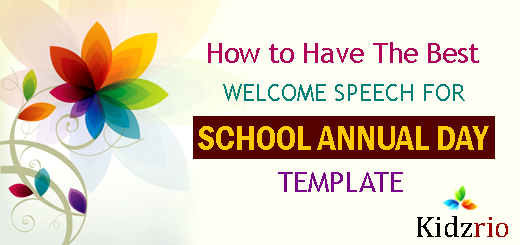 How To Have The Best A Welcome Speech For School Annual Day Template