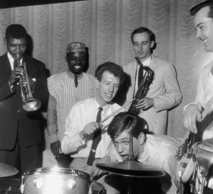 Georgie Fame y los Blue Flames en el Club Flamingo