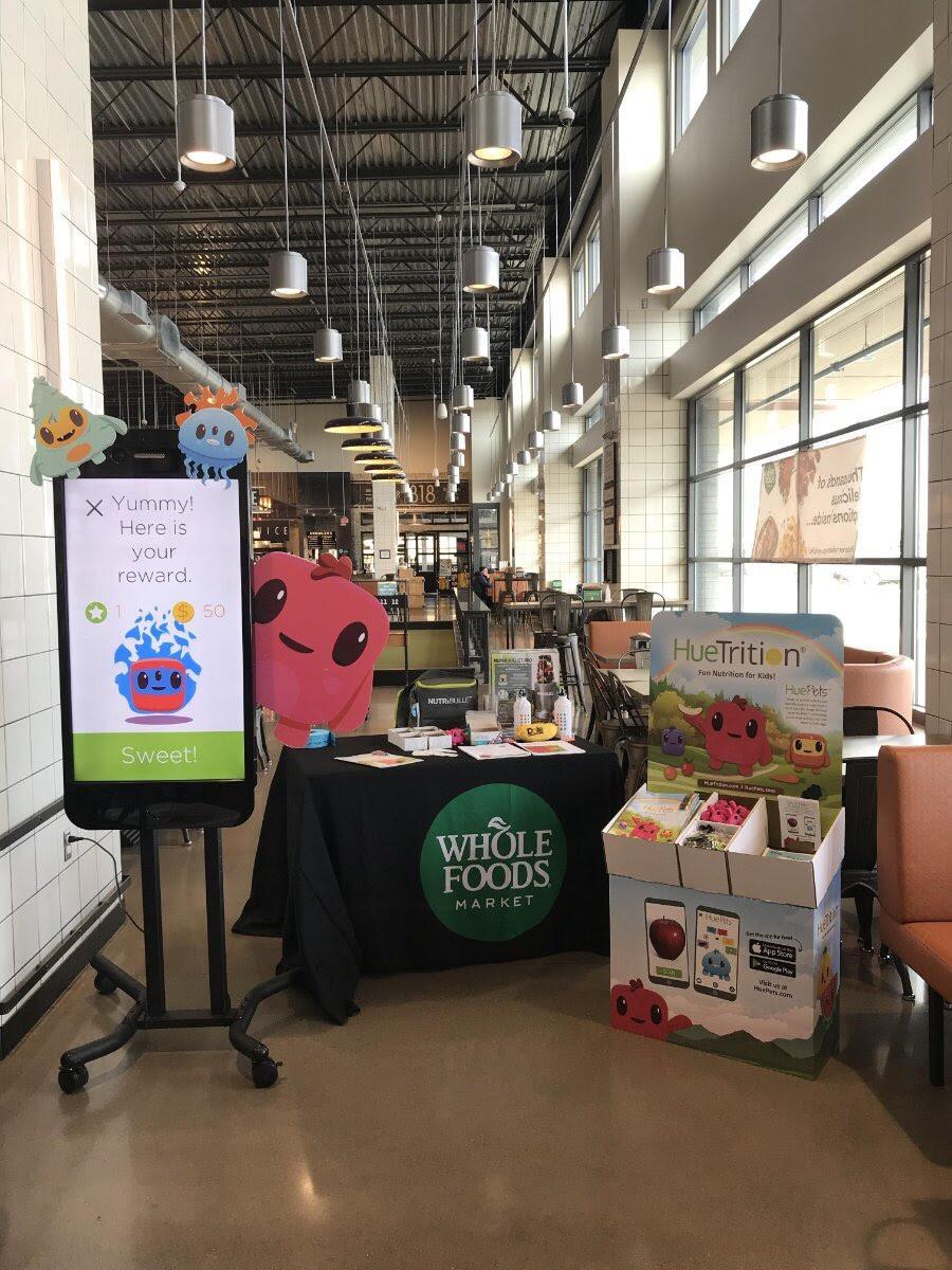 Whole Food Hue Scavenger Hunt at Whole Foods!
