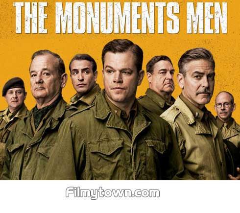 The Monuments Men George Clooney Matt Damon Bill Murray