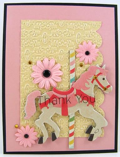 Carosel Thank You Card