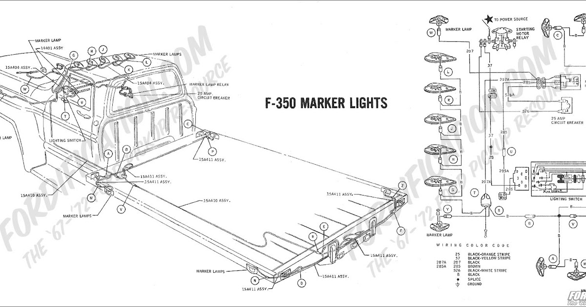 2000 ford f550 exterior lights wire diagram