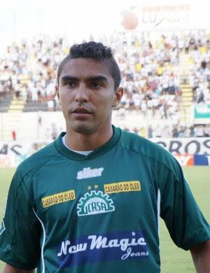 Juninho Potiguar, atacante do Icasa (Foto: Augusto Gomes)