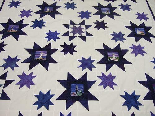 Liz's Star quilt  03