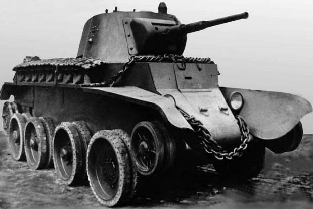 Перспективы советских и российских колёсных танков