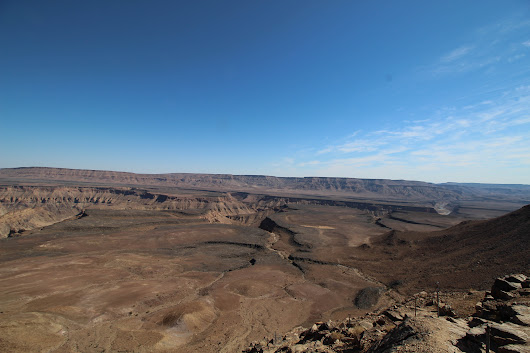 Monday Geology Picture: Another View of Fish River Canyon, Namibia - Georneys