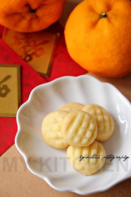 Orange-Butter Cookie
