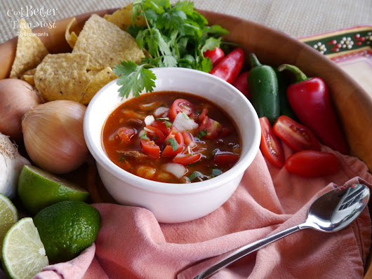Slow Cooker Simple Posole with Pork and Hominy - Cook Better Than Most Restaurants