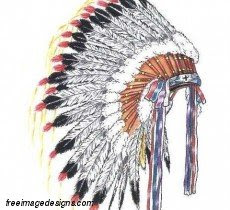 Indian Chief Head Dress Free Image Tattoo Design Download Free Image