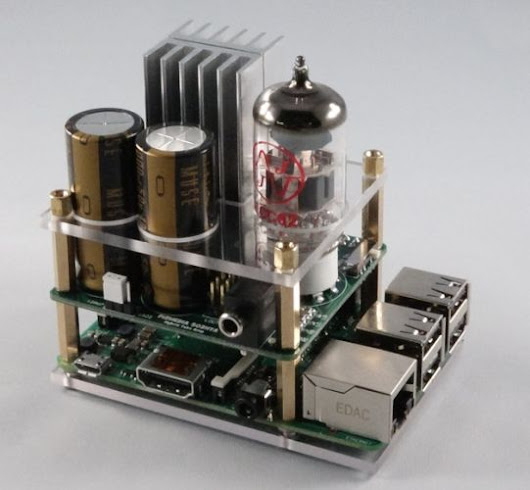 Clearly your Raspberry Pi needs a tube amp (crowdfunding) - Liliputing
