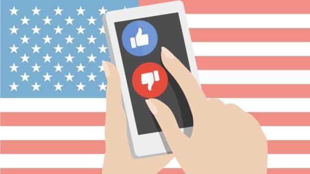 Estados Unidos y los sitios de redes sociales tienen una relación de amor y odio
