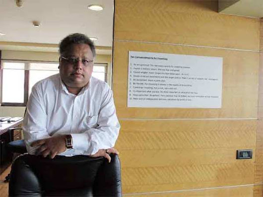 Rakesh Jhunjhunwala's portfolio grows 5.5 times in seven years: A sneak peek into his top bets - The Economic Times