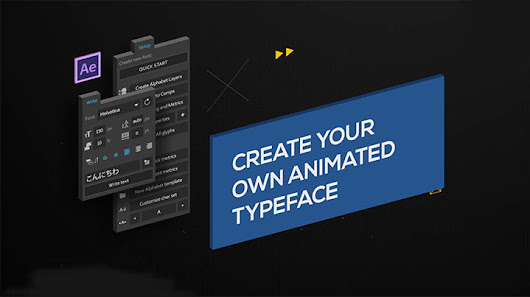 Creating a New Animated Typeface With Font Manager - Lesterbanks