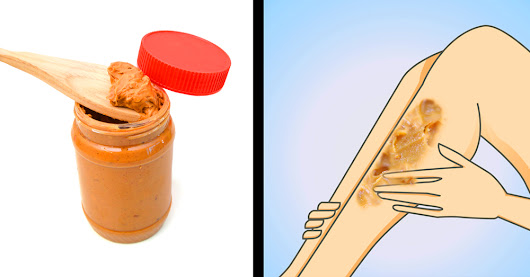 She Rubs Peanut Butter All Over Her Legs 2x Per Week. The Reason? I Had No Idea