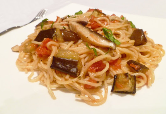 Roasted Veggie Pasta - This Happy Mommy