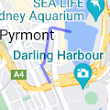 243 Pyrmont St, Darling Harbour NSW 2009 to 1,Harbourside Jetty, Darling Harbour NSW 2000 - Google Maps