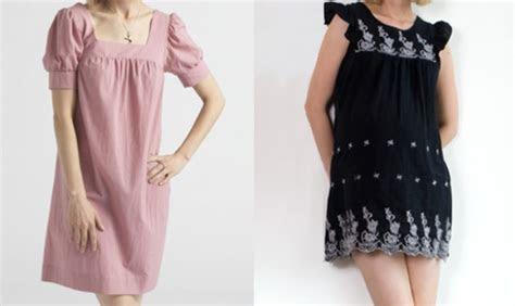 memilih baju  ibu hamil