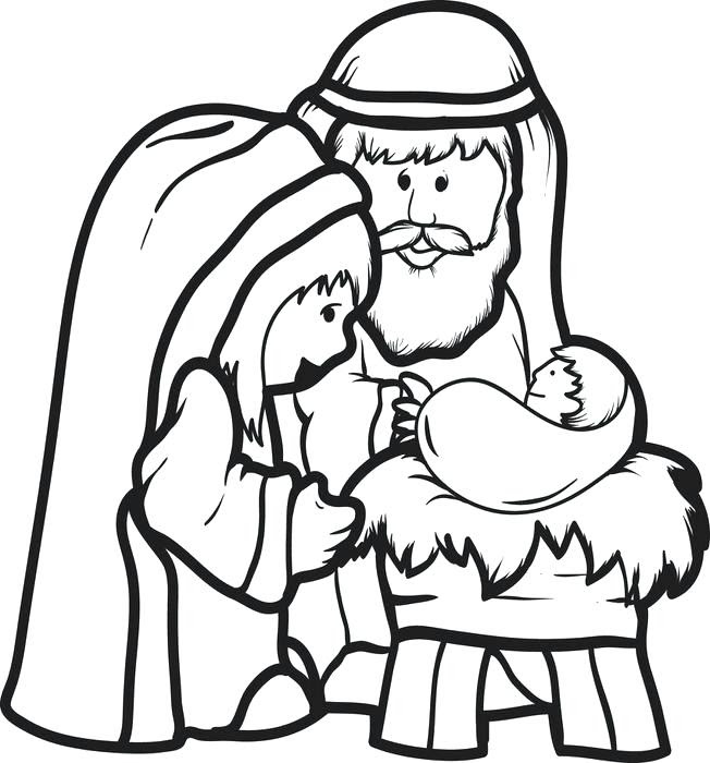 Happy Birthday Jesus Coloring Page at GetColorings.com ...