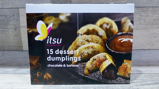 Itsu Sweet Chocolate and Banana Dessert Dumplings - Nibbles 'n' Scribbles