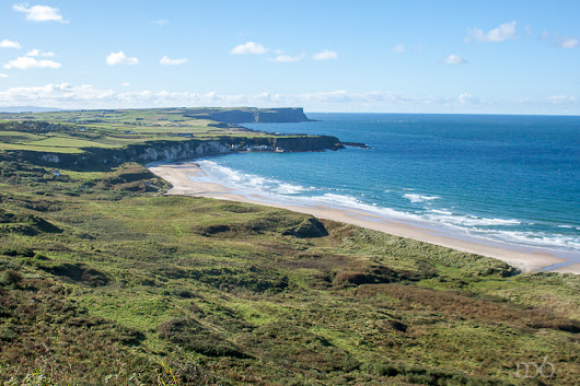White Park Bay on the Antrim Coast - Where the Sand Sings