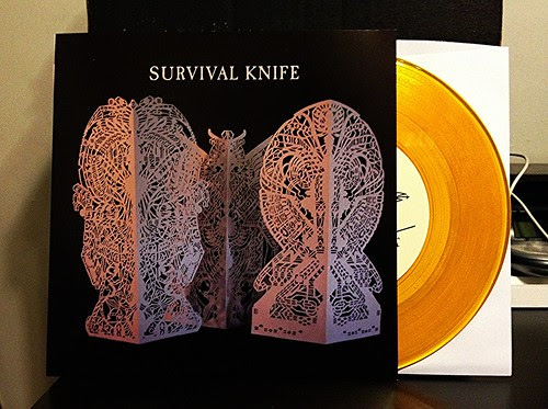 "Survival Knife - Divine Mob 7"" - Gold Vinyl (/100) by Tim PopKid"