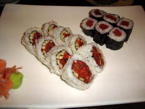 Spicy Tuna & Tuna Rolls