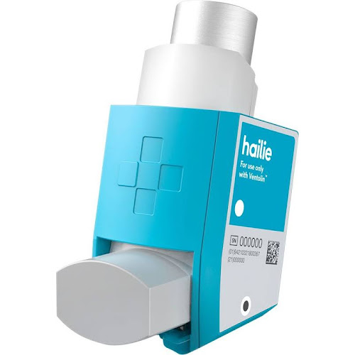 Hailie - Sensor for Ventolin HFA Inhalers - Blue