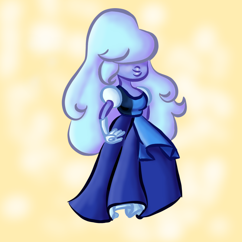 There's my Laughy Sapphy