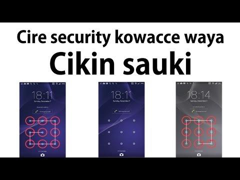 Android Phone: Yanda Ake Cire Security Kowane Kala A Wayar Android