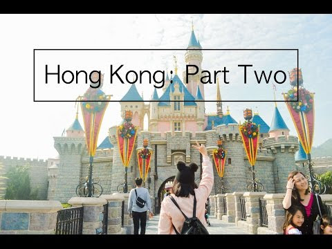 String of Thoughts: Hong Kong: Part Two | Victoria Harbour, Garden of Stars, Tsim Sha Tsui, Disneyland