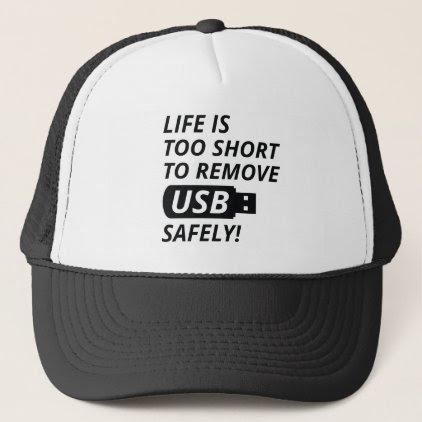Remove USB Safely Trucker Hat