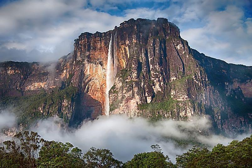 The Highest  Waterfalls  In The World WorldAtlas com