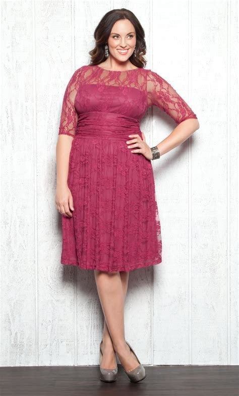 "Love! Redefine ""pretty in pink"" in the raspberry Plus Size"