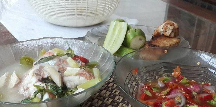 Resep Ikan Nila Kuah Asem Dan Sambel Dabu2 Oleh Emyzubir
