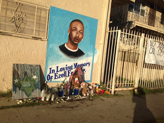 Ezell Ford was victim of gang gunfire years before LAPD shooting
