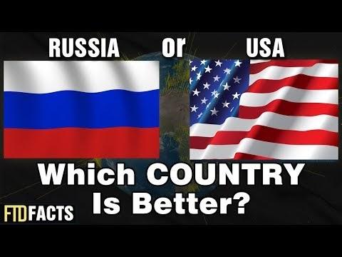 Россия или США — какая страна лучше?