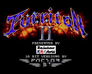 Turrican II - Amiga - 1