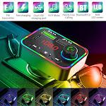 Wireless Bluetooth 5.0 FM Transmitter Mp3 Radio Adapter