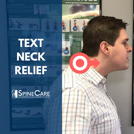 Text Neck Relief | SpineCare | Chiropractic in St. Joseph, MI