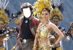 Superstar Rajnikanth and Aishwarya Rai in Endhiran