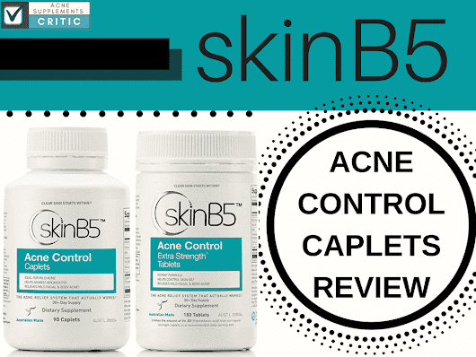 SkinB5 Review- What Ingredients Cause Side Effects? | Acne Supplements Critic