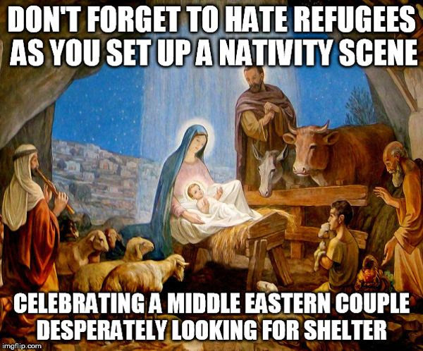 What would Joseph and Mary think about the plight of the Syrian refugees?