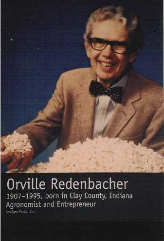 OFFBEAT A new 'official' family biography of Orville Redenbacher soon to be published