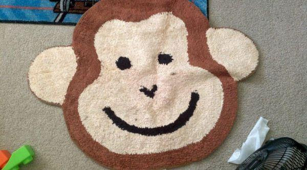 MONKEY RUG + WALL DECOR* - $11 (SEASIDE/FT. ORD) for Sale in ...