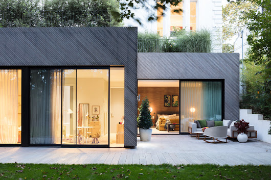 Modern New Home in Hampstead - Outdoor - Trendy - Gårdhave - London - af Black and Milk | Interior Design | London