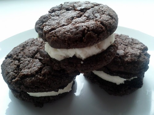 Chocolate Sandwich Cookies, Pastries, Bread, Blender, Oven-baked, FX777222999, Snacks, Chocolate, Cookies